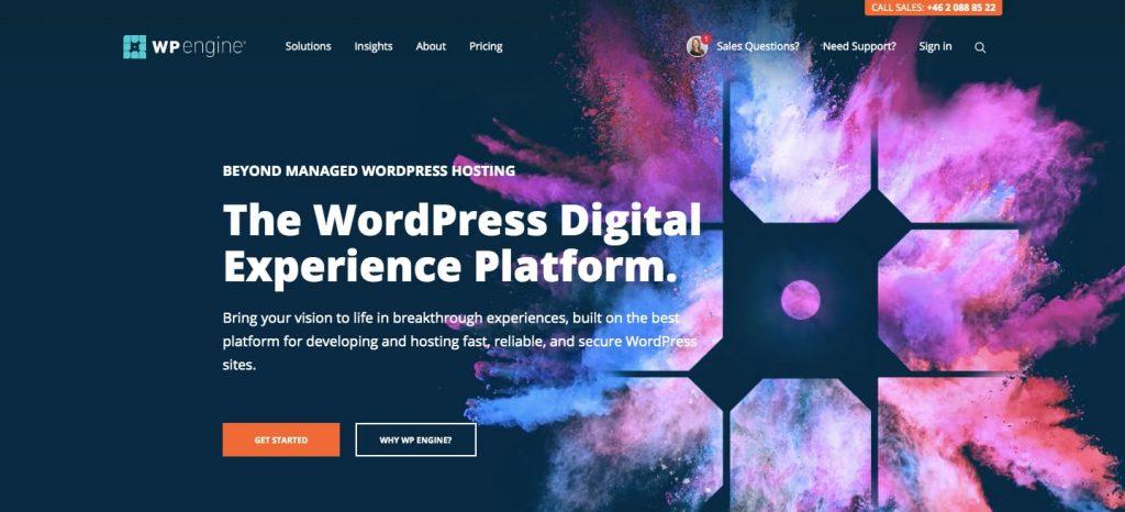 Best wordpress hosting customer support - wp engine 4th option