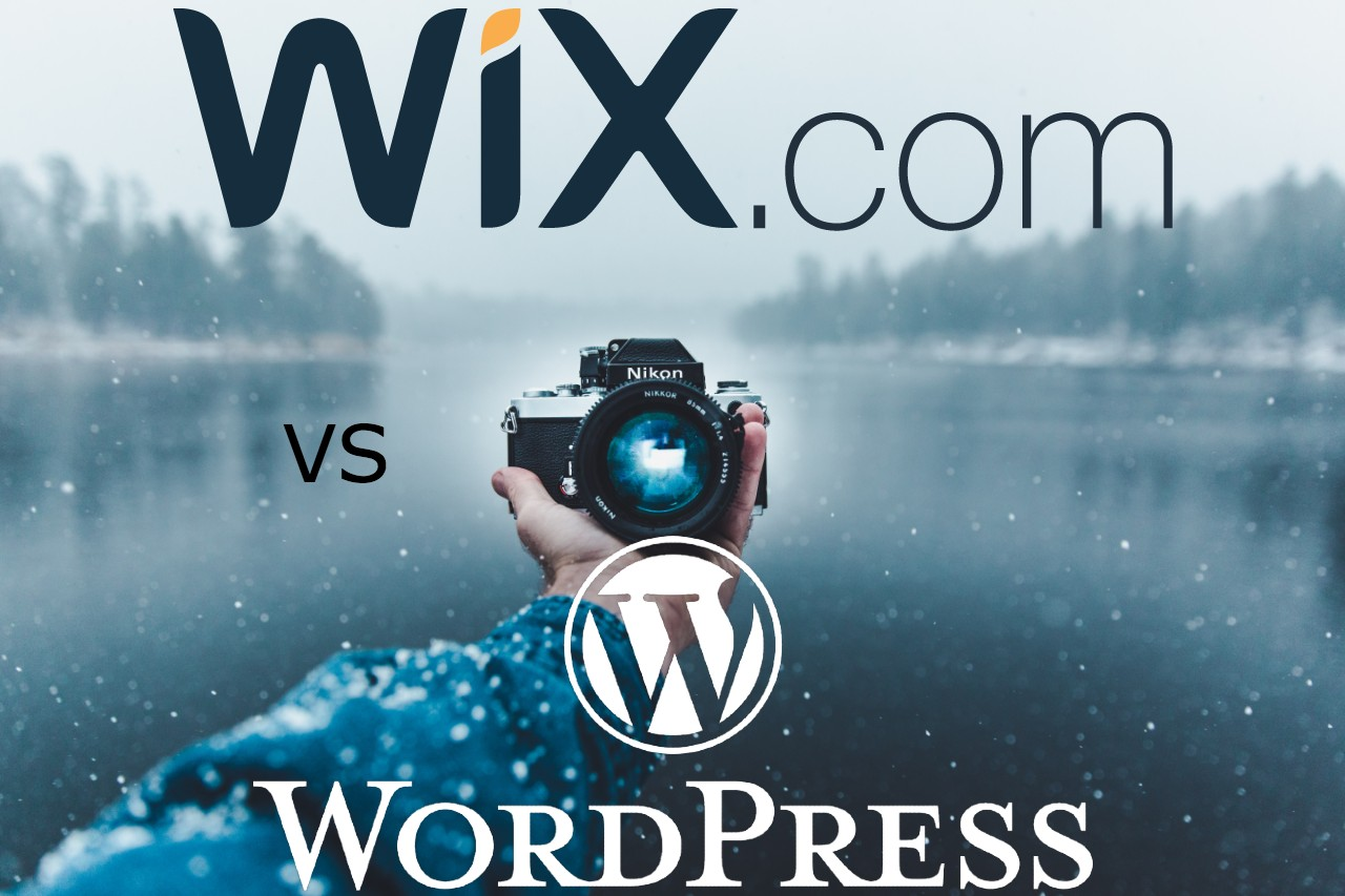 Wix vs Wordpress for photographers